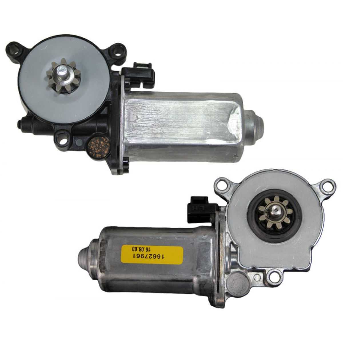 Power Window Lift Motors Pair Set For Buick Cadillac Olds Pontiac