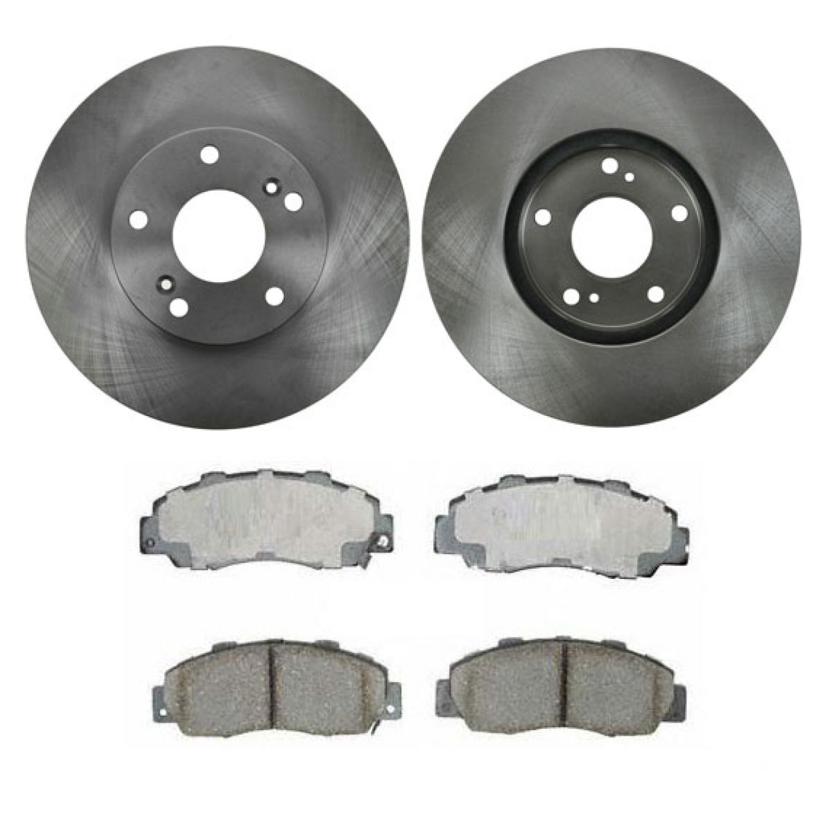 front ceramic brake pads rotor kit set for 98 02 honda