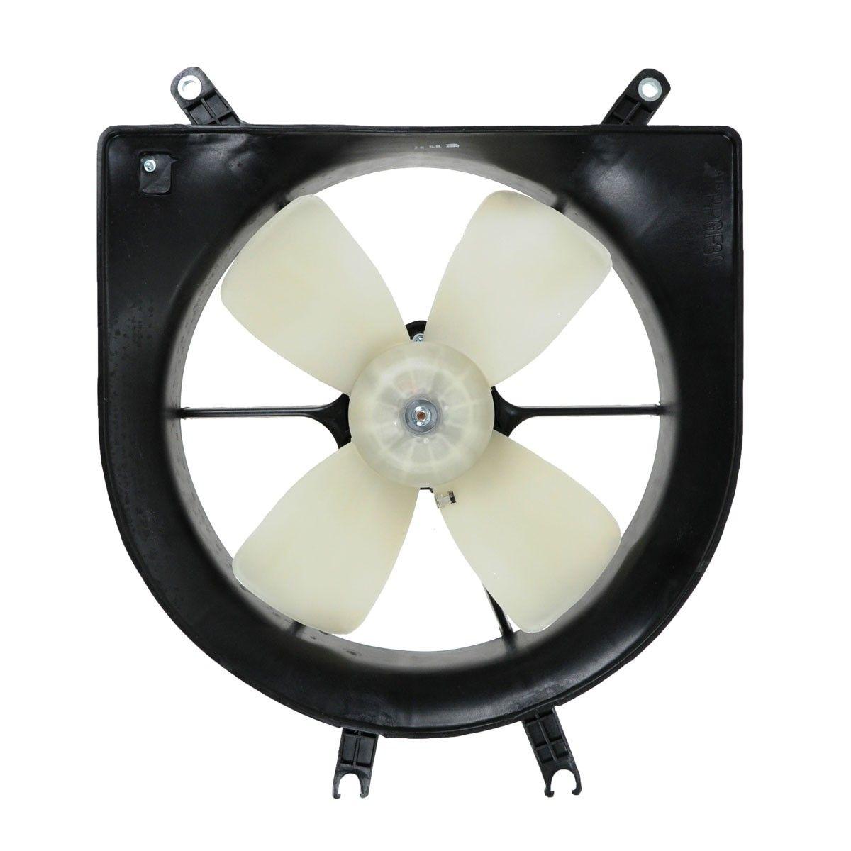 Radiator Cooling Fan Motor Assembly For Honda Civic Del Sol Ebay