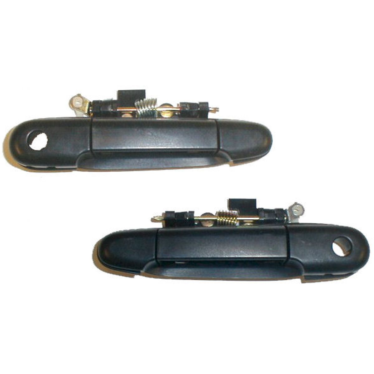 Front Black Outer Outside Exterior Door Handle Pair Set Of 2 For Tercel Paseo Ebay