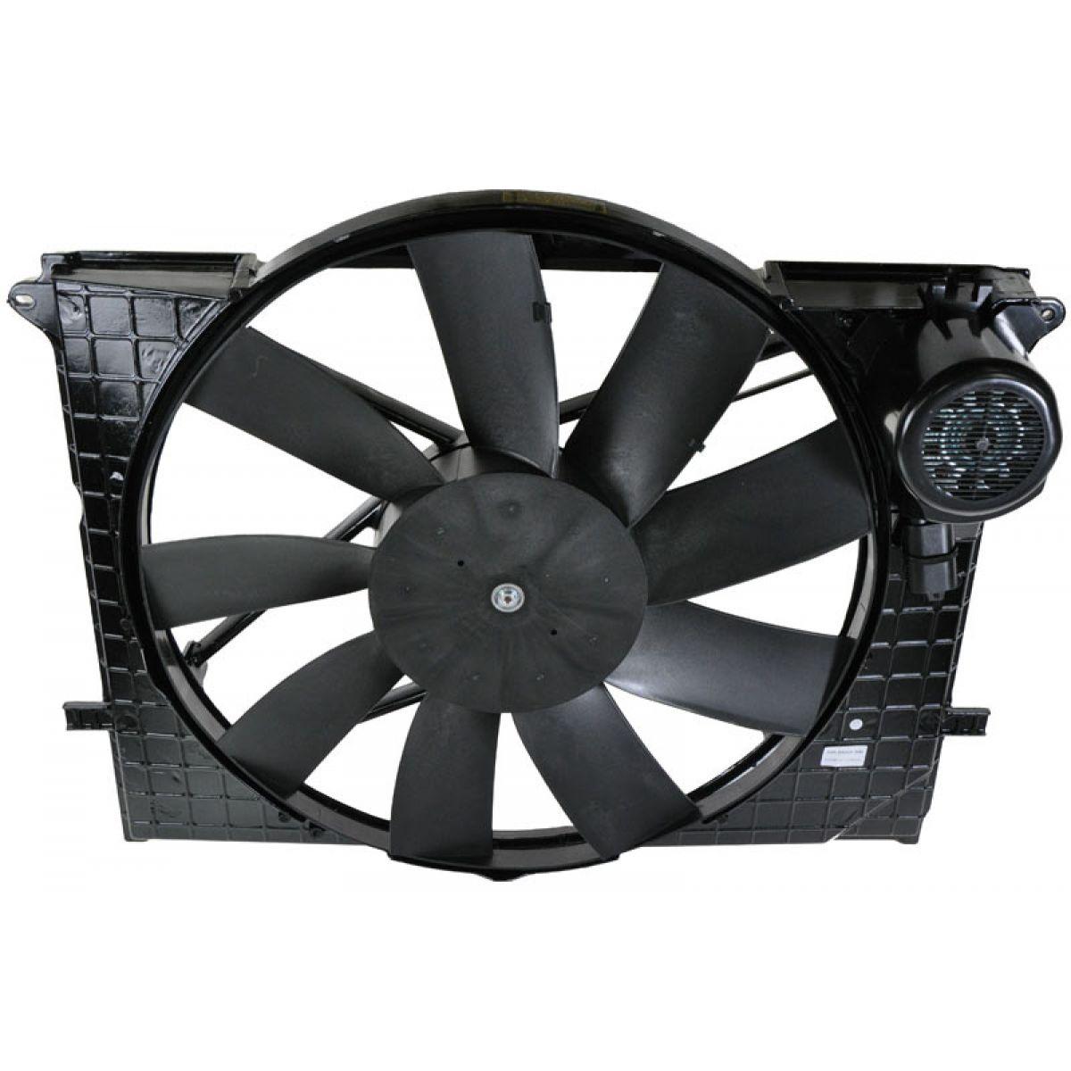 Radiator cooling fan motor for mercedes benz cl500 cl55 for Radiator fan motor price