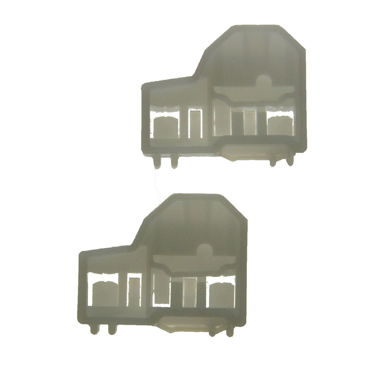 Window regulator guide clip pair set for pontiac grand am for 2000 grand am window regulator
