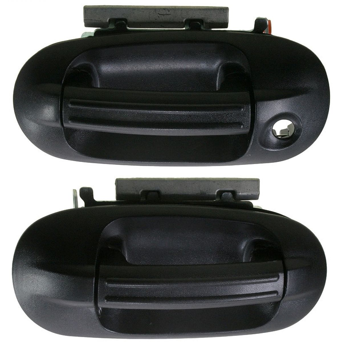 Door Handles Exterior Textured Black Front Pair Set For Expedition Navigator Ebay