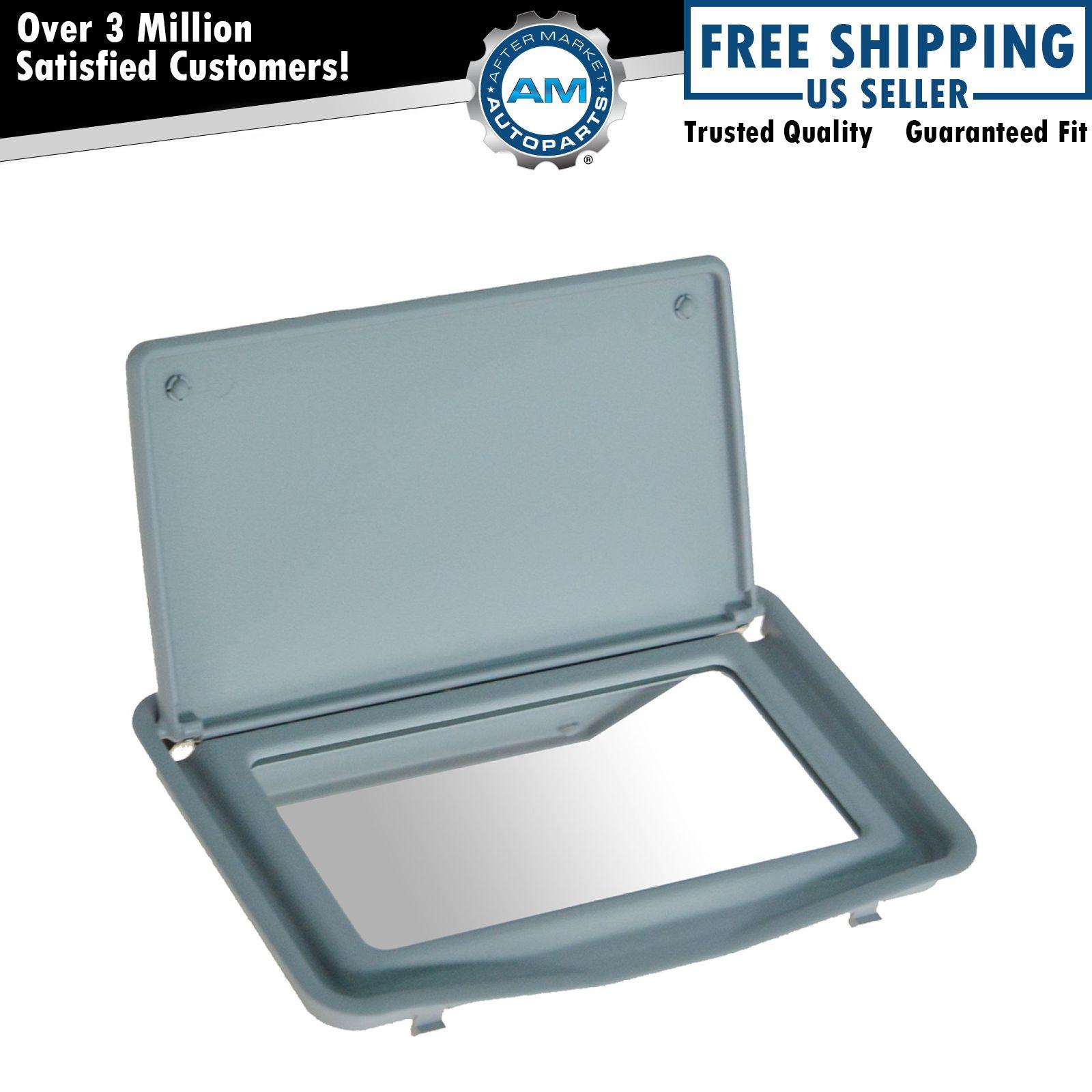 Oem 210 810 25 10 7d84 sun visor mirror flip up gray for for Mercedes benz sun visor replacement