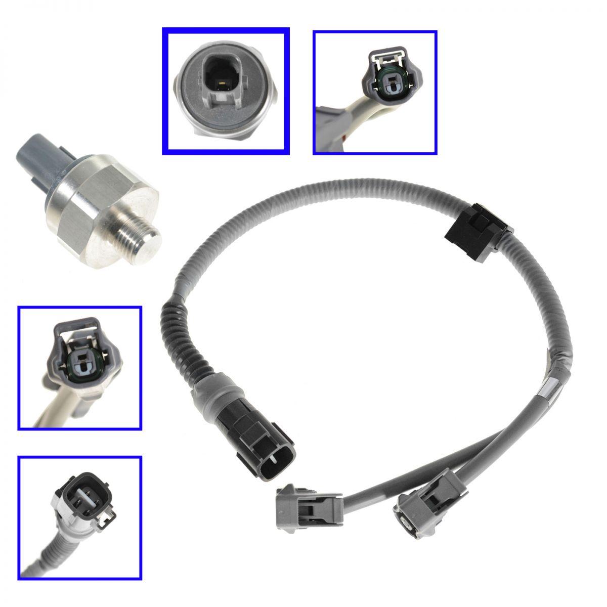knock sensor w harness kit set for 92 93 toyota camry lexus es300 v6 3 0l ebay. Black Bedroom Furniture Sets. Home Design Ideas
