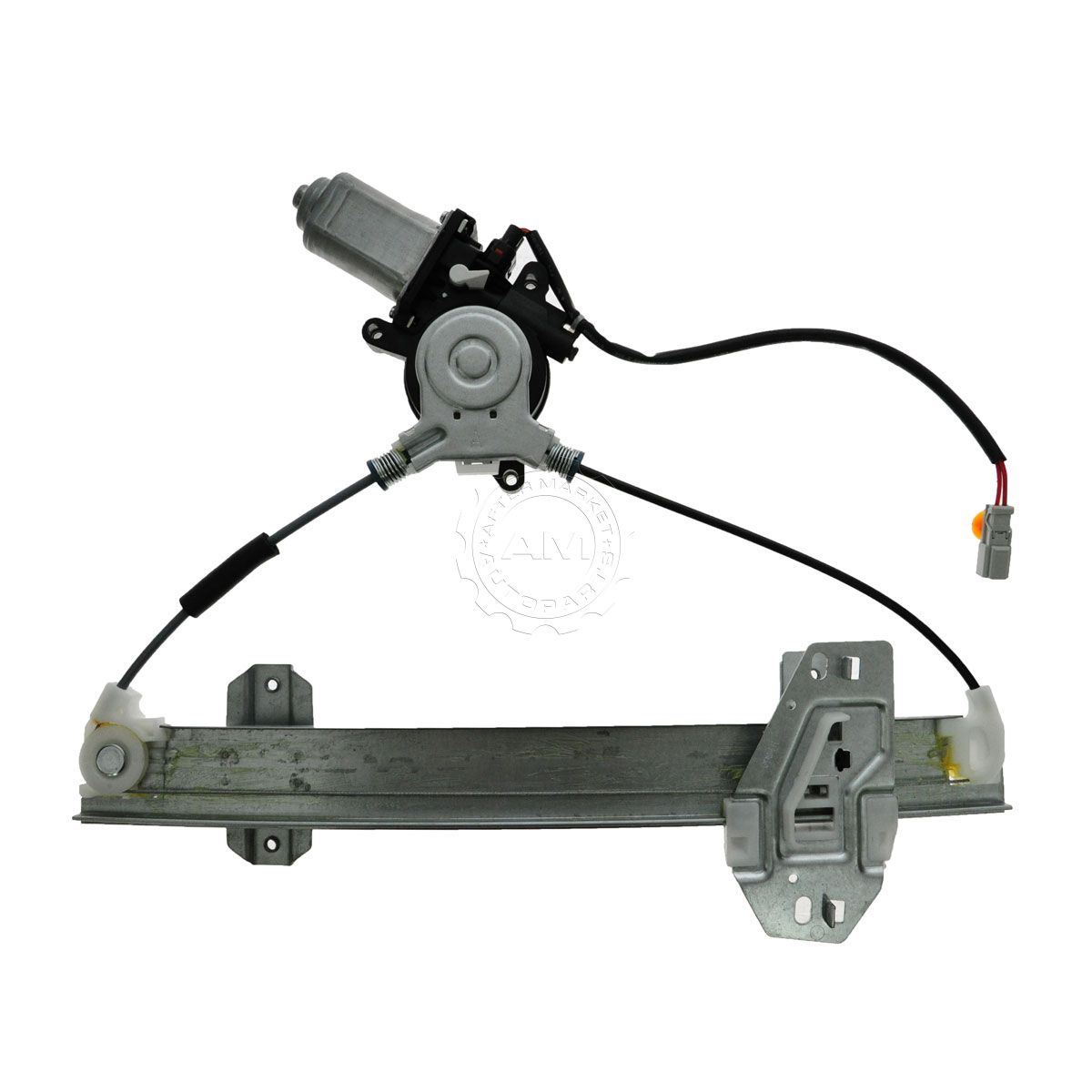 Power window regulator with motor rear rh right passenger for Power window motor replacement cost