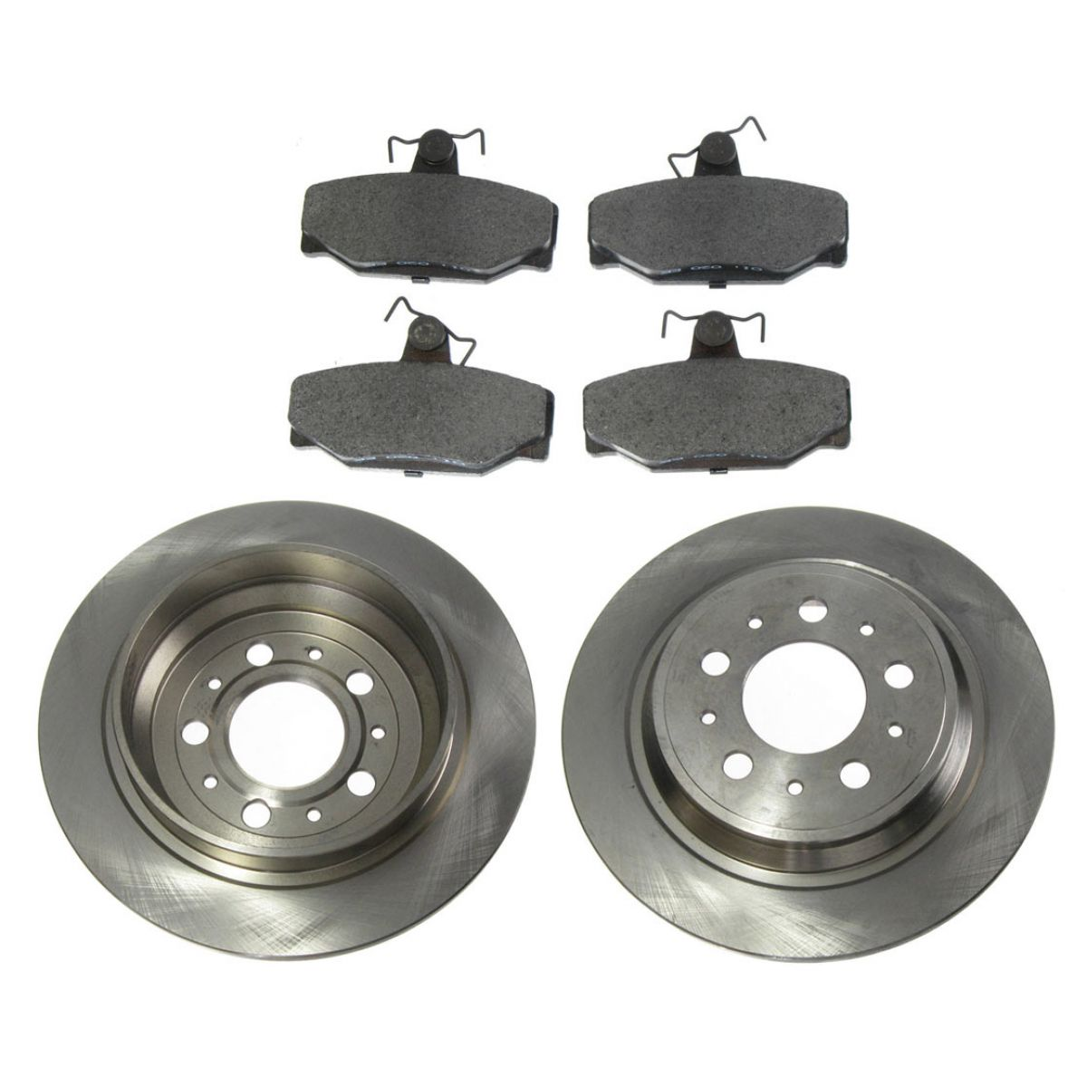 rear disc brake pad rotor kit set for volvo v70 s70 850 ebay. Black Bedroom Furniture Sets. Home Design Ideas