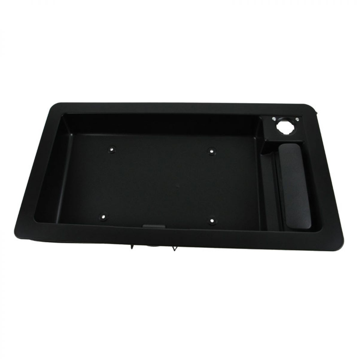 Ford E-150 Rear Door License Plate Housing