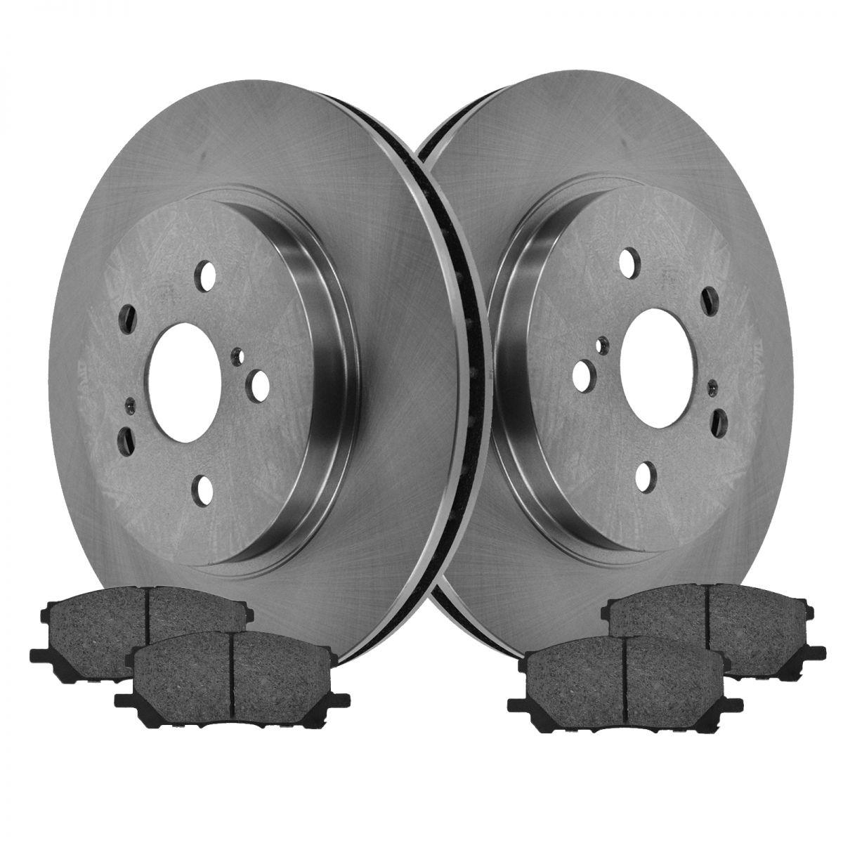 Lexus Brake Pads: Brake Pad Rotor Front Semi Metallic Kit Set For Lexus
