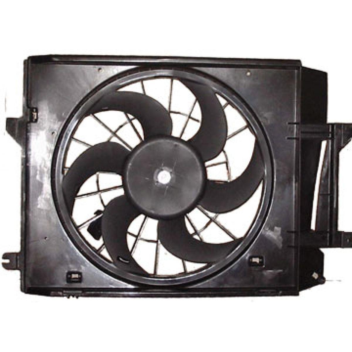 02 Cool Fan : Radiator cooling fan assembly for nissan quest