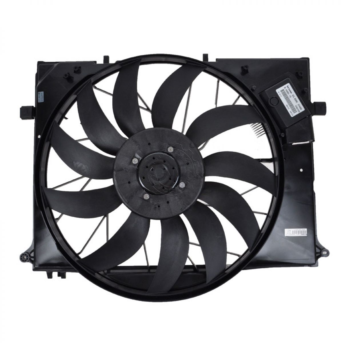 Behr 351040091 radiator cooling fan for mercedes benz cl s for Mercedes benz fans