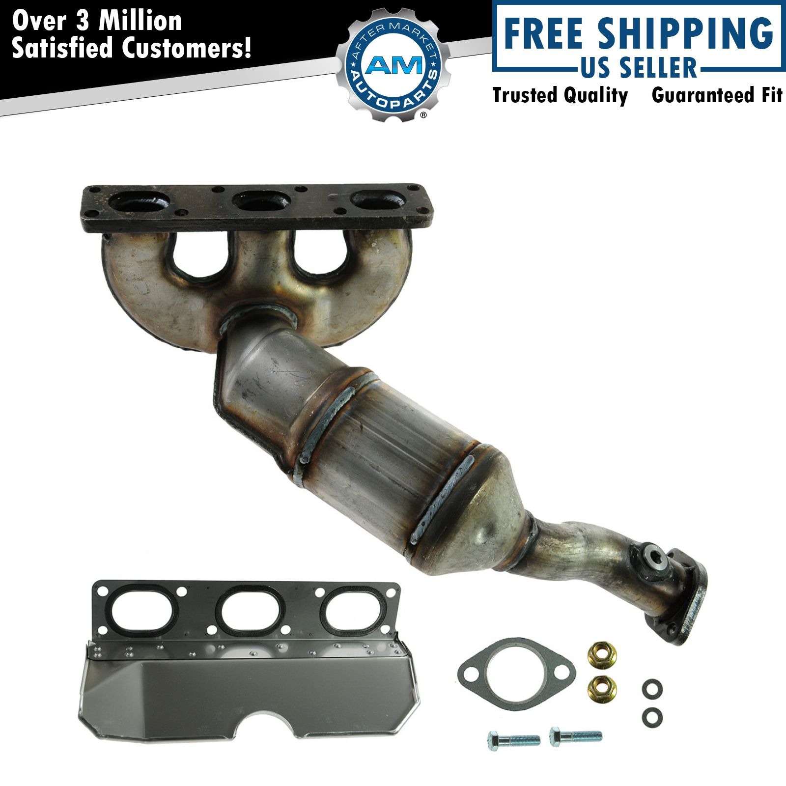 Rear Exhaust Manifold Catalytic Converter Gasket Install