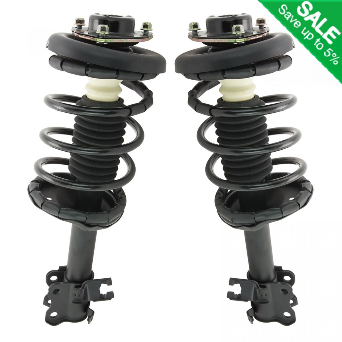 Front Pair Oem Air Strut Spring: FRONT Shock Strut & Spring Mount Pair Set Of 2 For