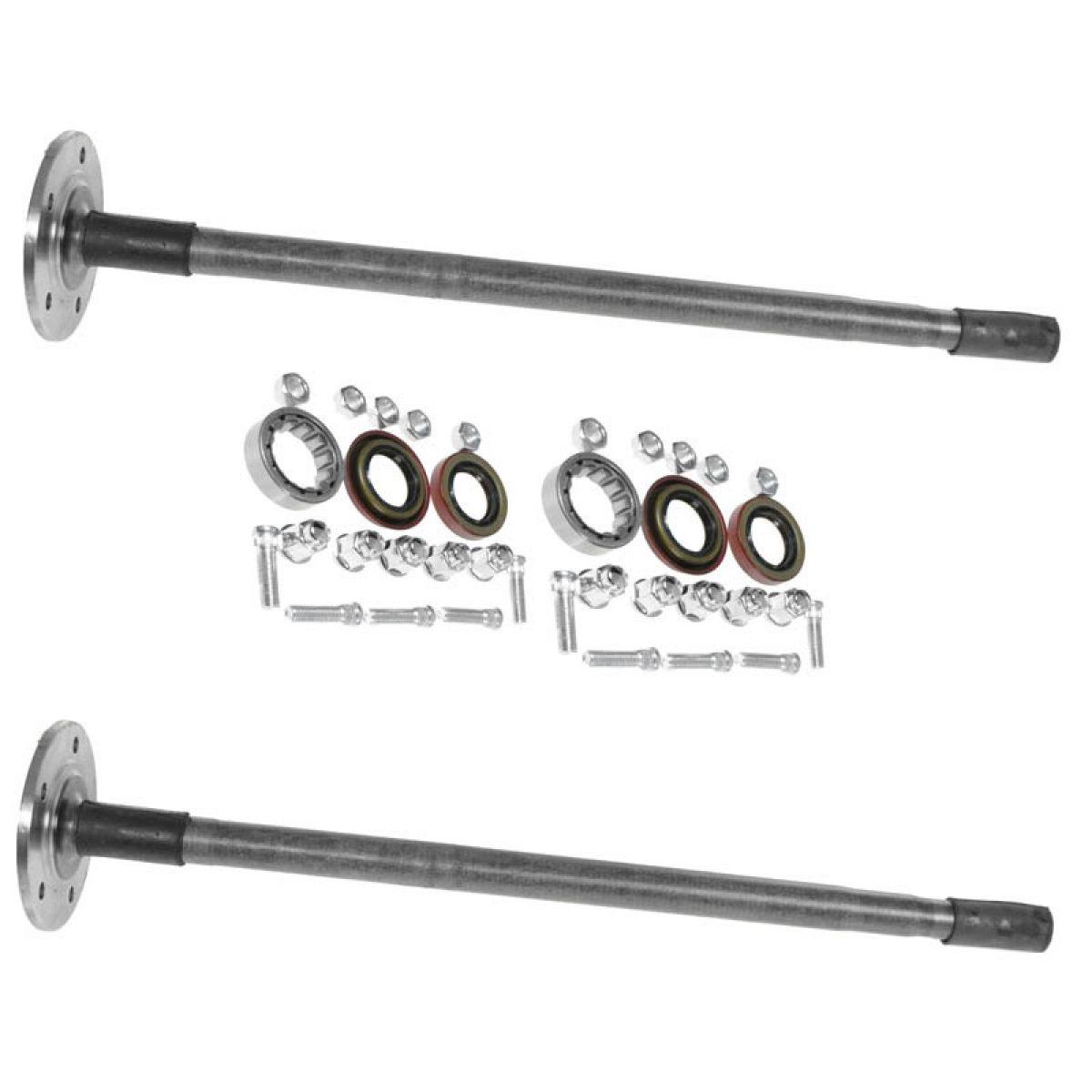 rear axle shaft  u0026 bearing pair set kit for chevy gmc