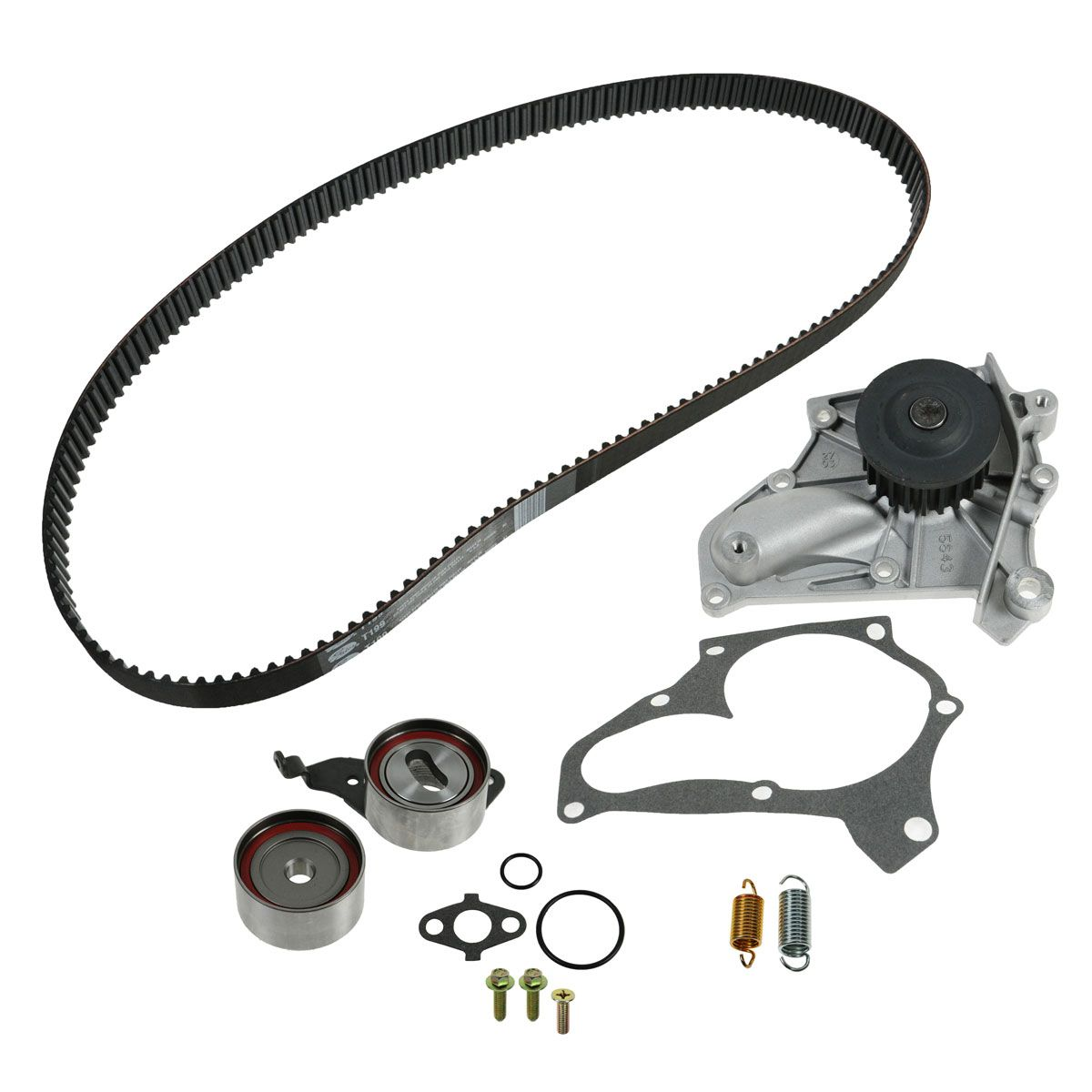 Gates TCKWP199 Timing Belt Kit w Water Pump Set for Toyota