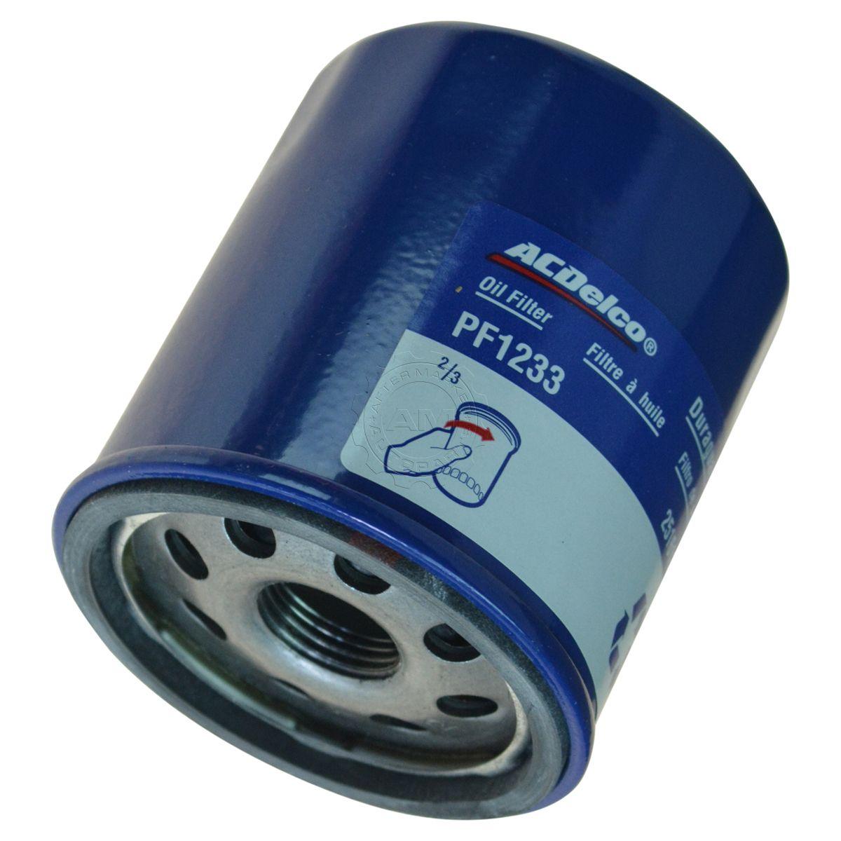 Ac Delco Pf1233 Engine Oil Filter For Chevy Pontiac Geo