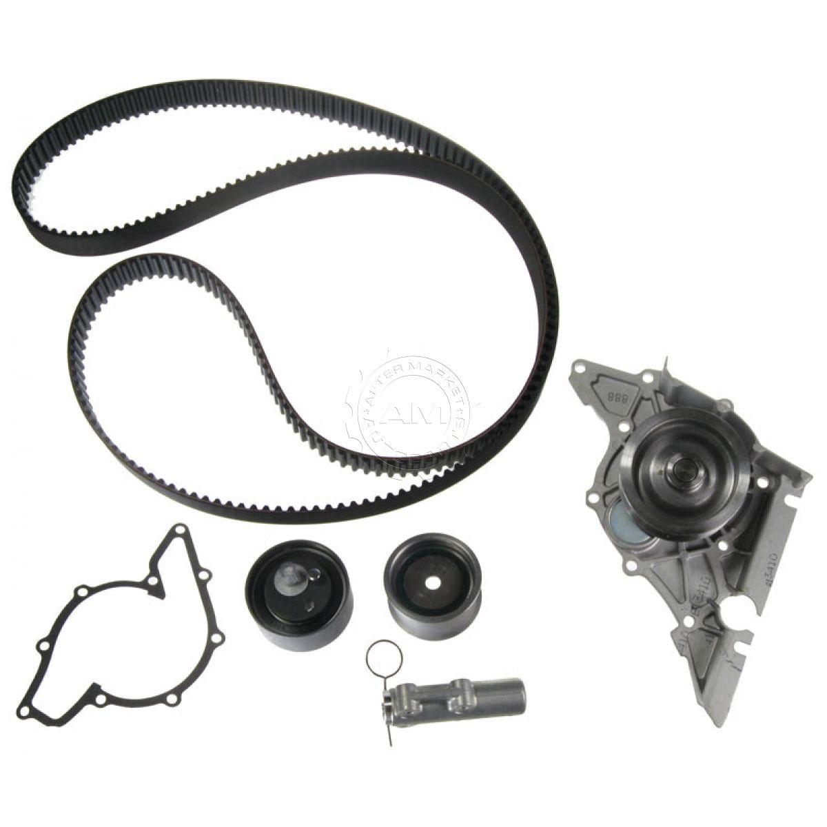 GATES TCKWP297 Timing Belt Kit W/ Water Pump Set For Audi