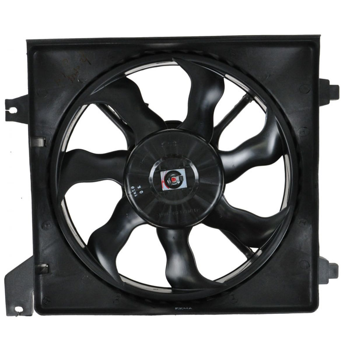 Radiator Cooling Fan Assembly Driver Side Left LH for 06-11 Accent
