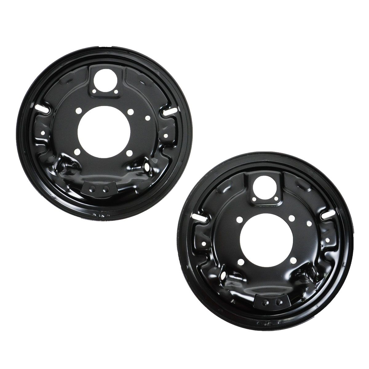 Chevy Truck Brake Backing Plate : Rear brake backing plates pair set of for chevy c k