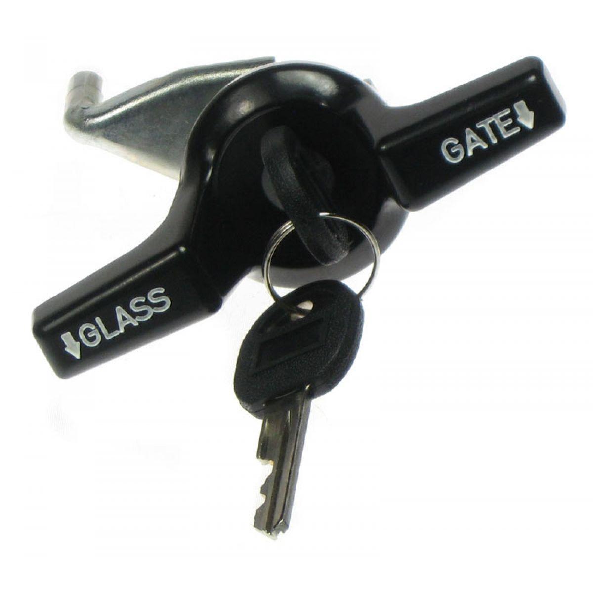 1993 Chevrolet Lumina Apv Interior: Tailgate Handle Lock W/White Lettering W/2 Keys For Chevy