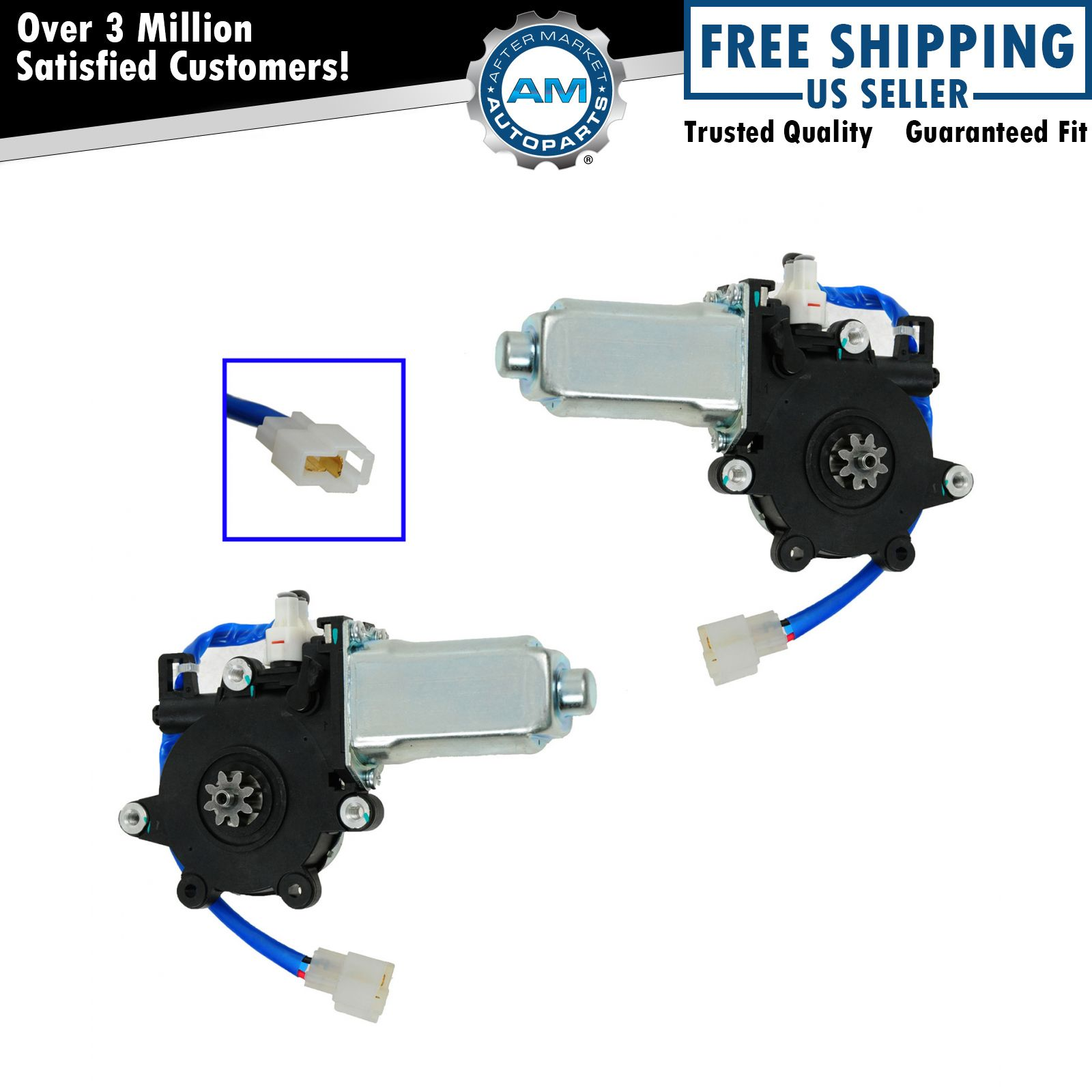 Power Window Lift Motor Pair Set Of 2 For Subaru Forester