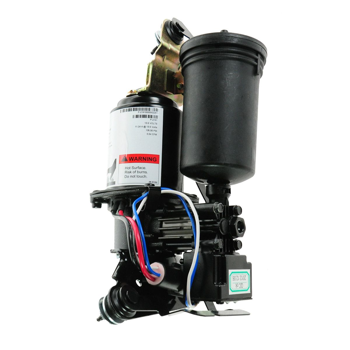 air ride suspension compressor w dryer arnott p 2191 for. Black Bedroom Furniture Sets. Home Design Ideas
