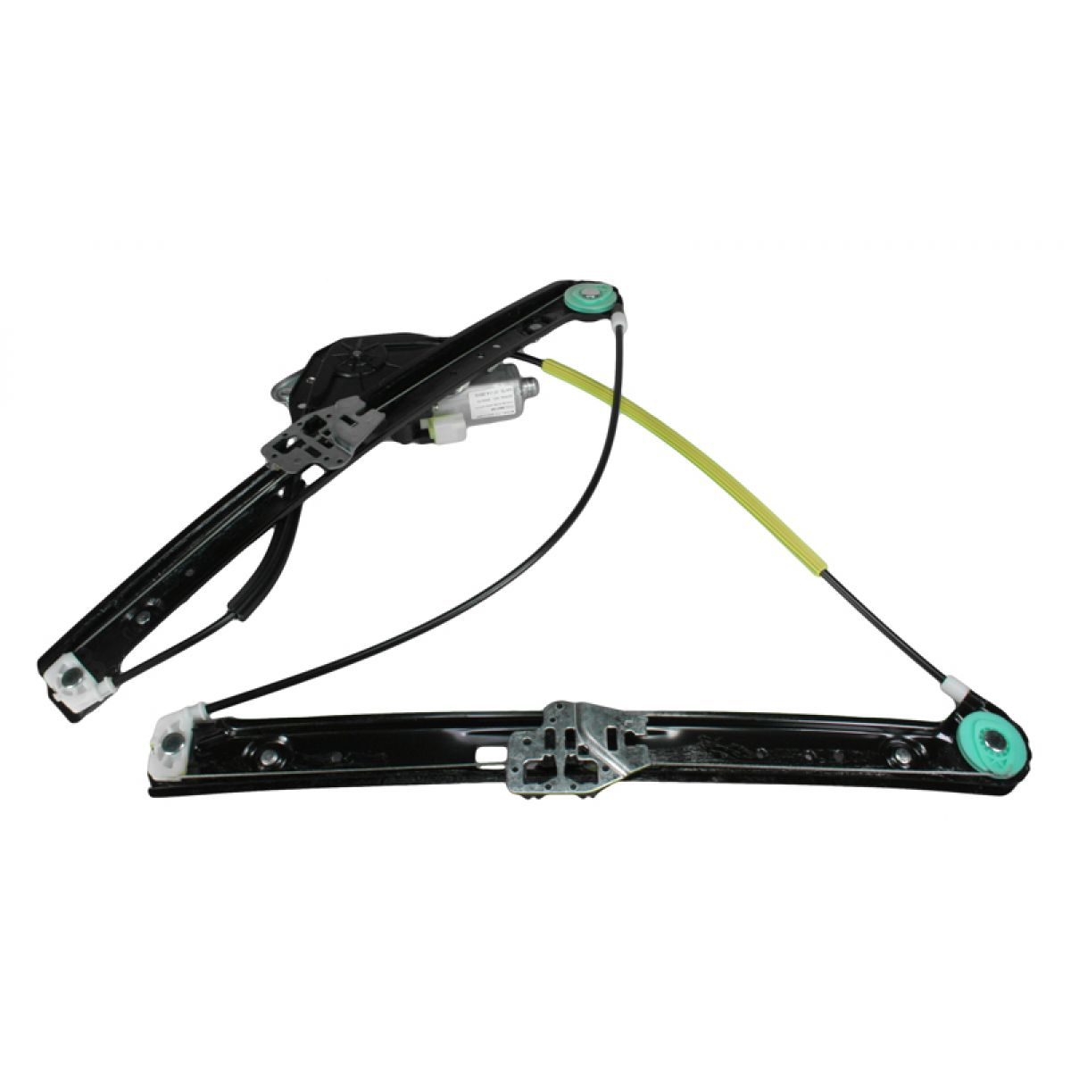 Front power window regulator w motor driver side left lh for 2000 bmw 323i window regulator