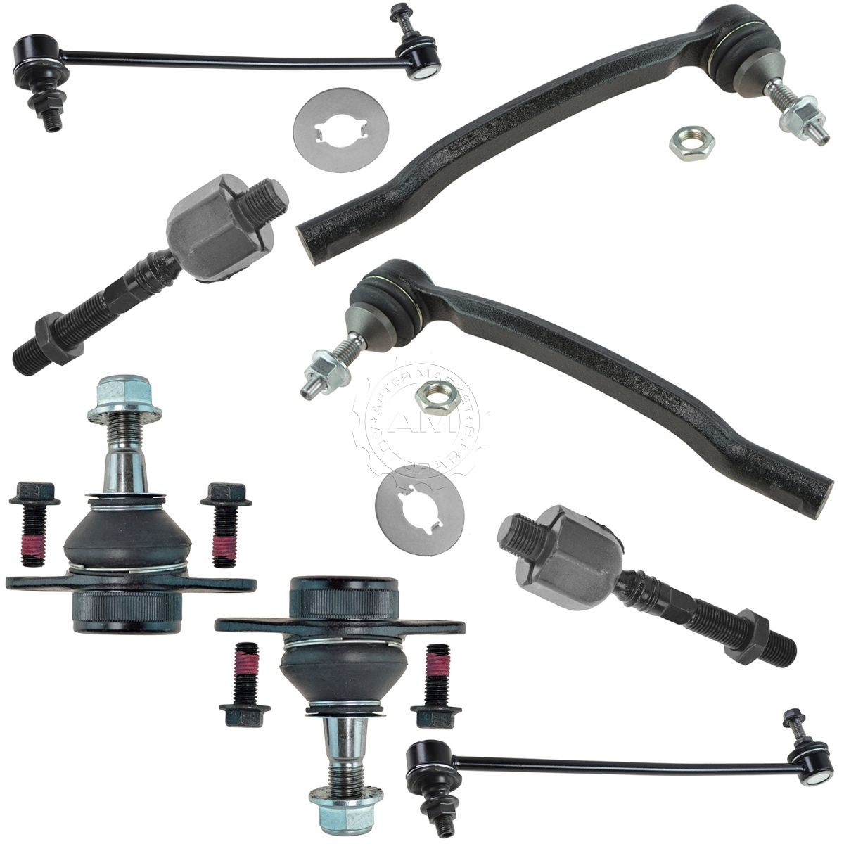 Lower Ball Joint Front Driver & Passenger LH RH Pair for 03-14 ...