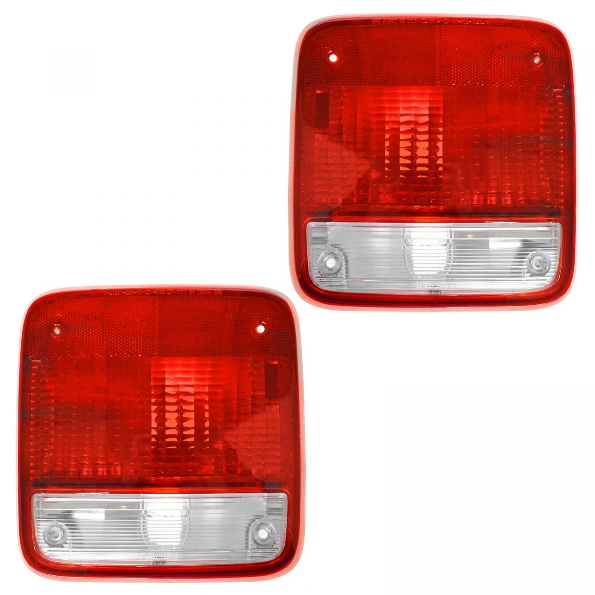Taillights Lamps Taillamps Pair Set Rear Brake For 85-96