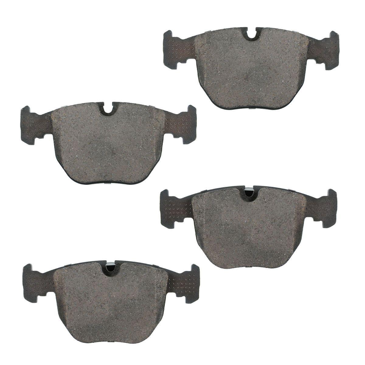 Front Ceramic Disc Brake Pad Rotor /& Sensor Kit LH /& RH Sides for 00-06 BMW X5