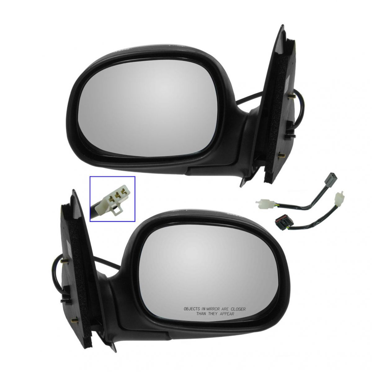 04-08 Forester Power Non-Heat Folding Rear View Mirror Left Right Side SET PAIR