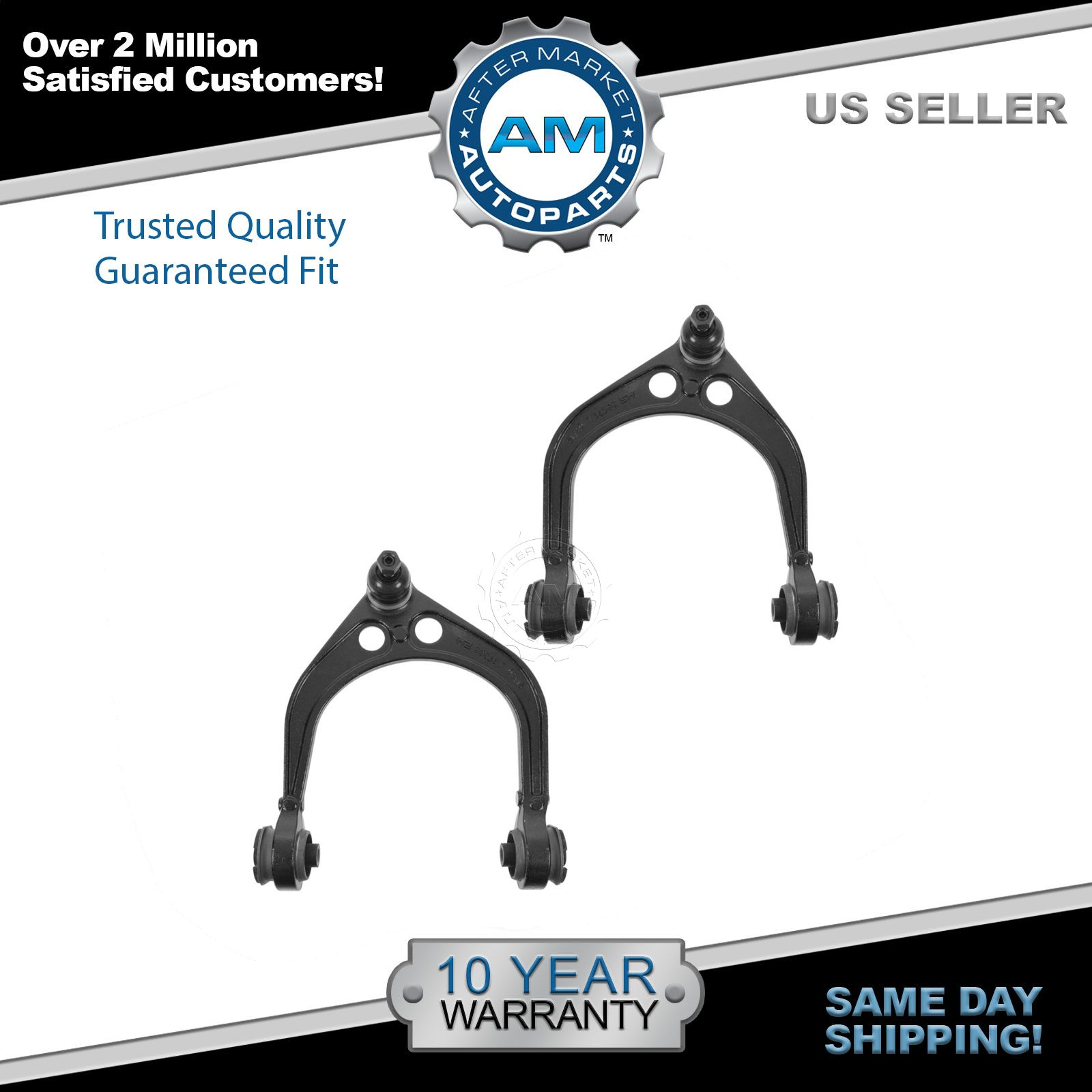Front Upper Control Arm w/ Ball Joint Pair Set for Dodge Charger Magnum 300