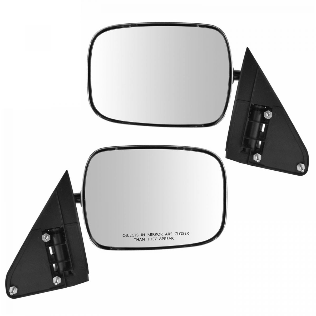New Mirrors Set of 2 Driver /& Passenger Side for Chevy Suburban LH RH Tahoe Pair