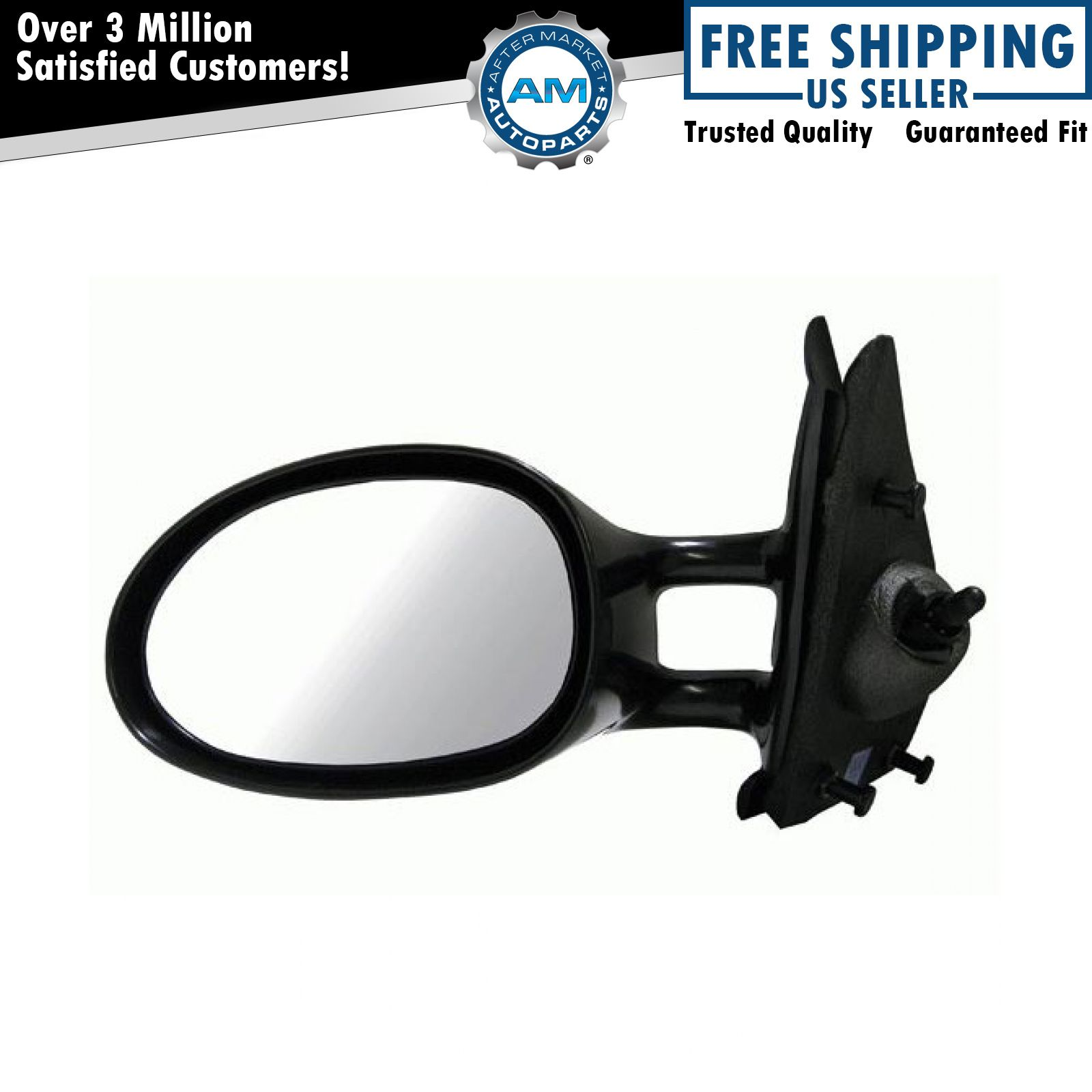 Mirror for Chrysler Cirrus Dodge Stratus Plymouth Breeze Drivers Manual Remote