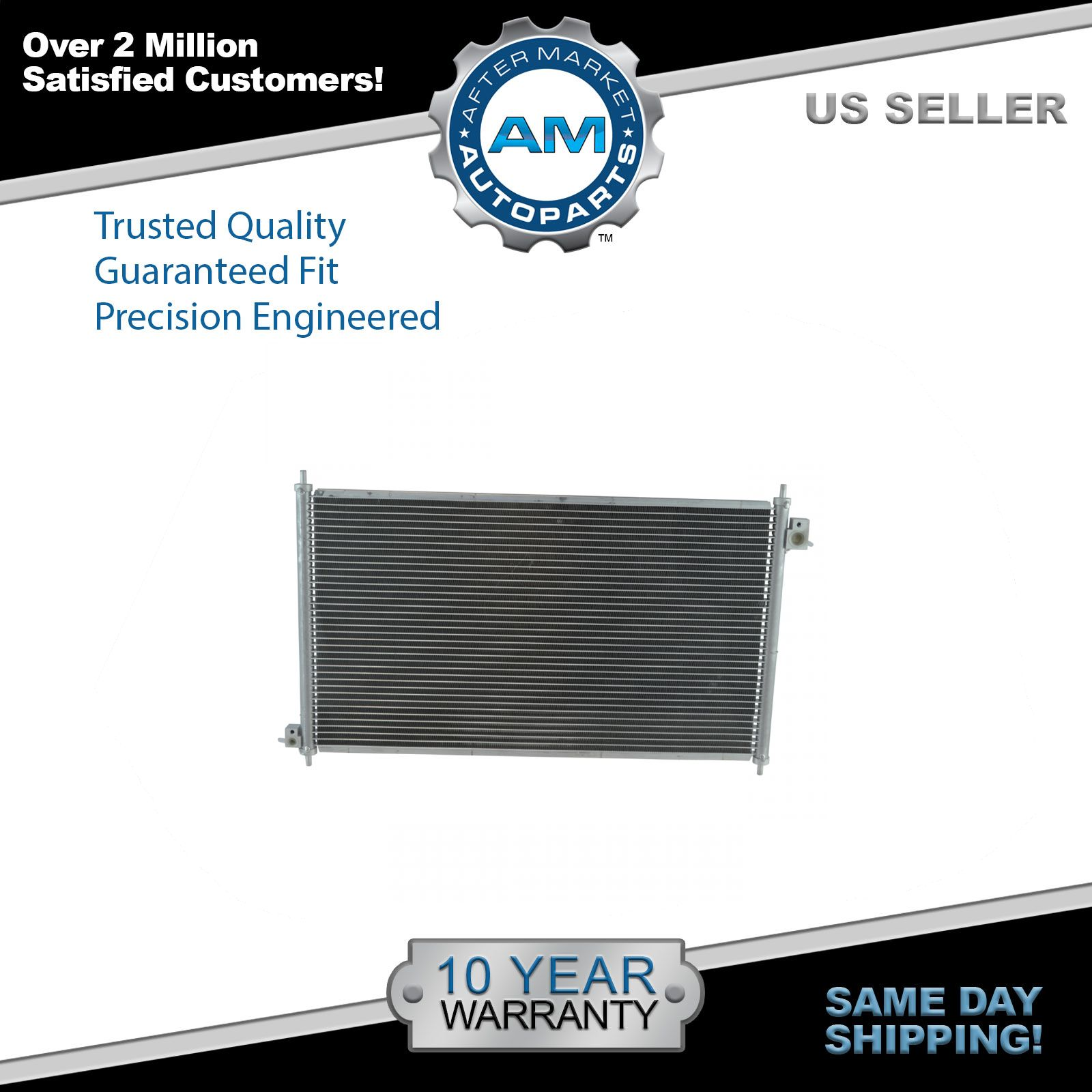 Air Conditioning AC A//C Condenser Assembly for 98-02 Honda Accord L4 2.3L