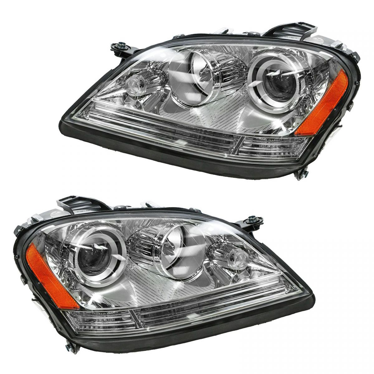 Mercedes Benz Headlight Bulb Replacement Instructions
