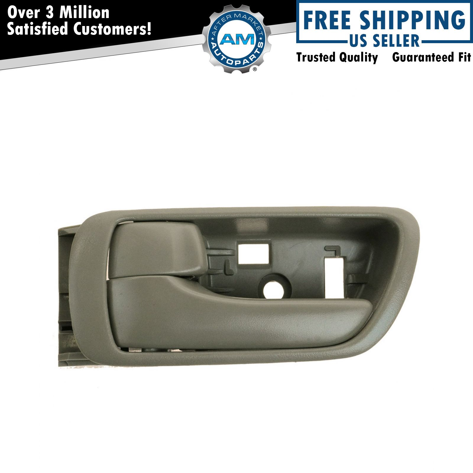 Door Handle Inside Interior Beige LH Left Driver Side For 02 06 Toyota Camry