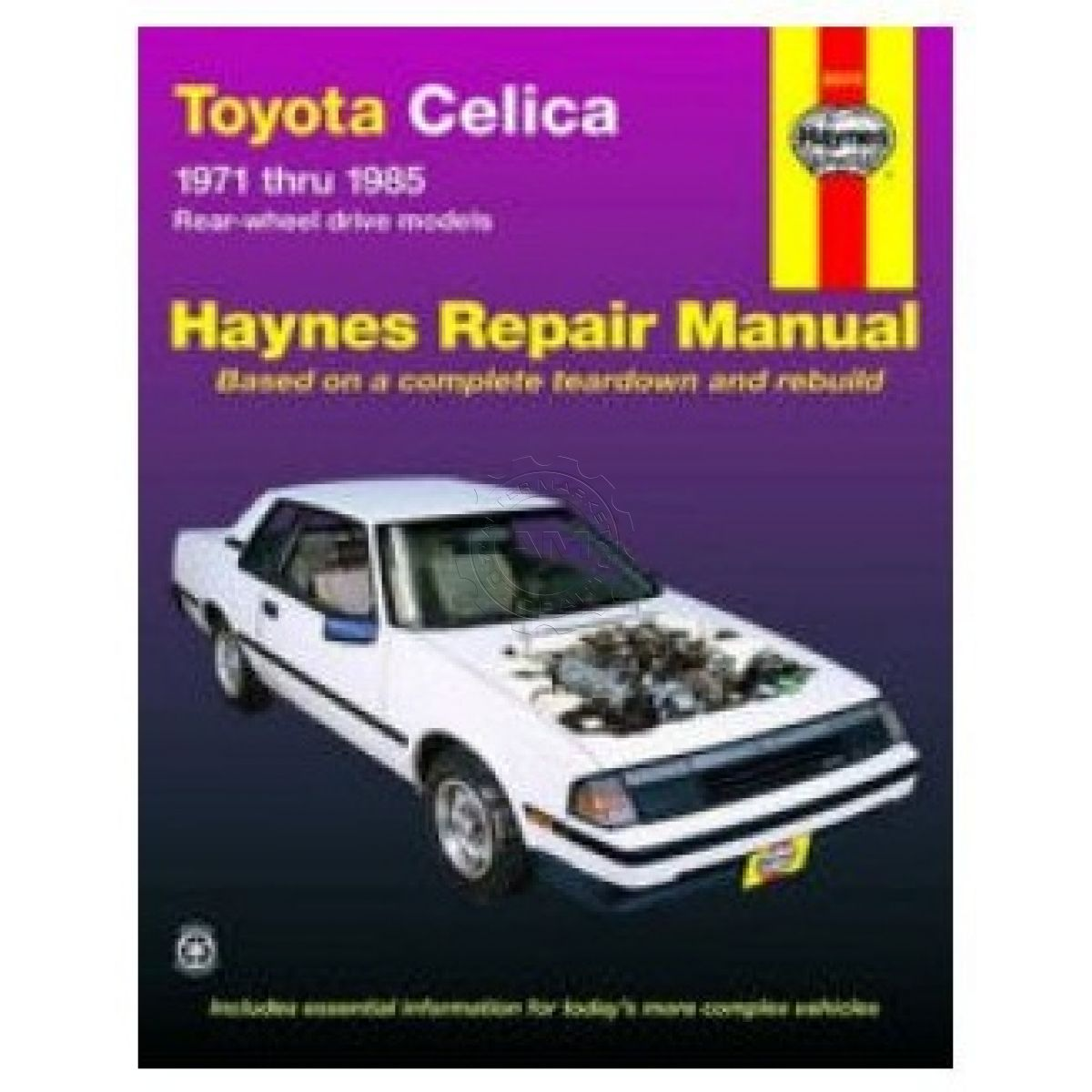 Haynes Repair Manual for Toyota Celica 71-81 82 83 84 85