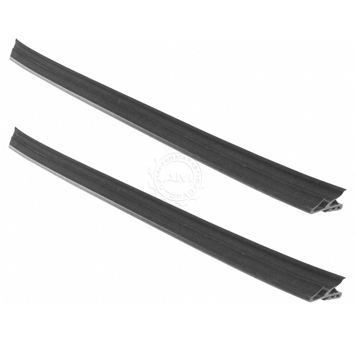 OEM Front Outer Window Belt Weatherstrip Molding LH /& RH Pair for Pickup New