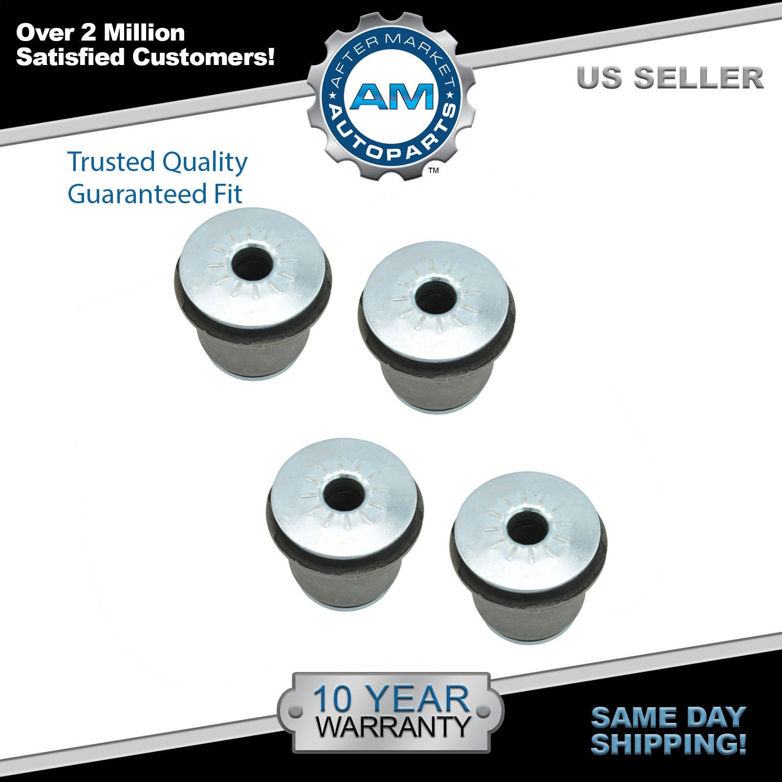 Front Upper Control Arm Bushing Kit Left & Right Pair For Chevy GMC Pickup Van