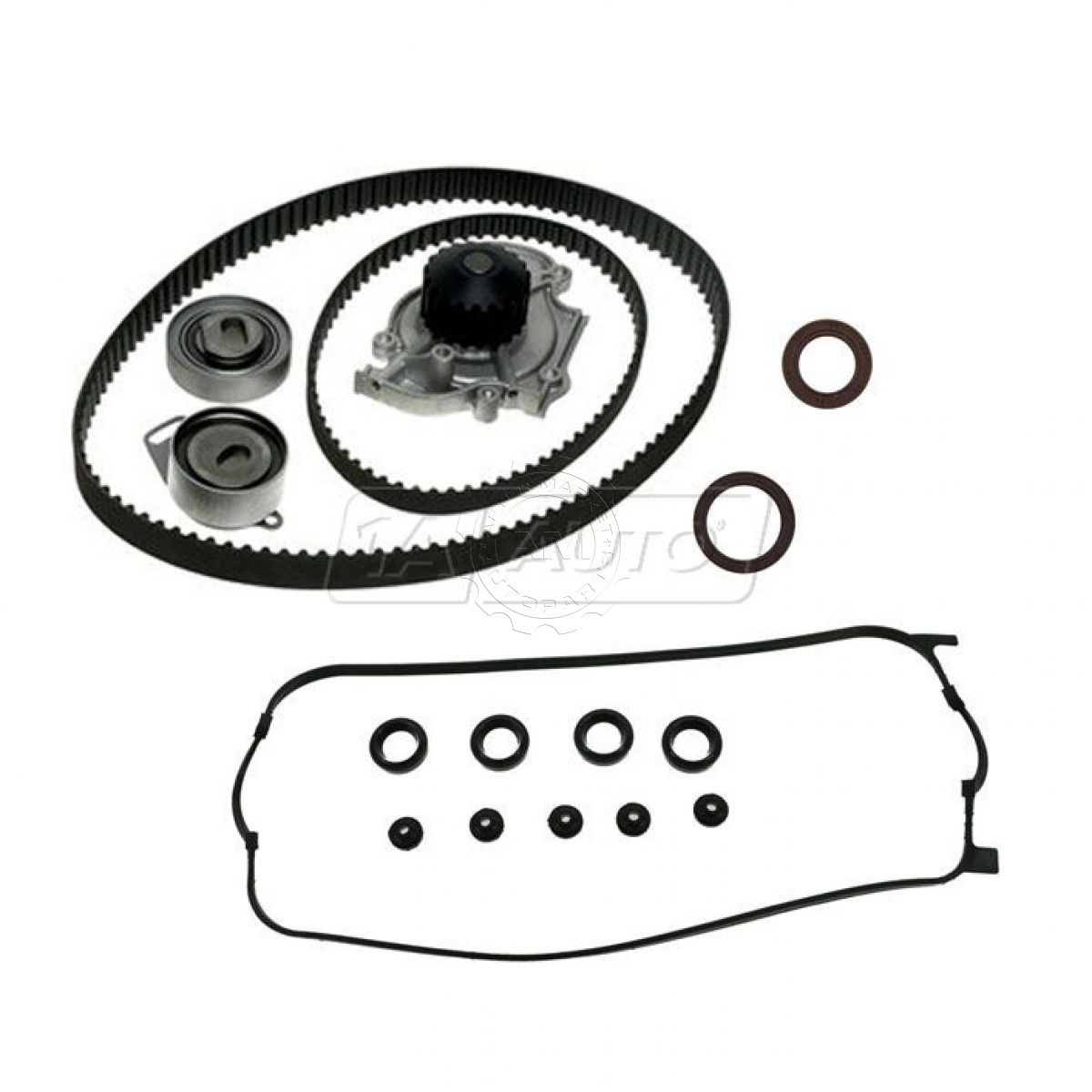 Timing Belt Water Pump Valve Cover Gasket Seals Kit Set for Accord CL  Odyssey