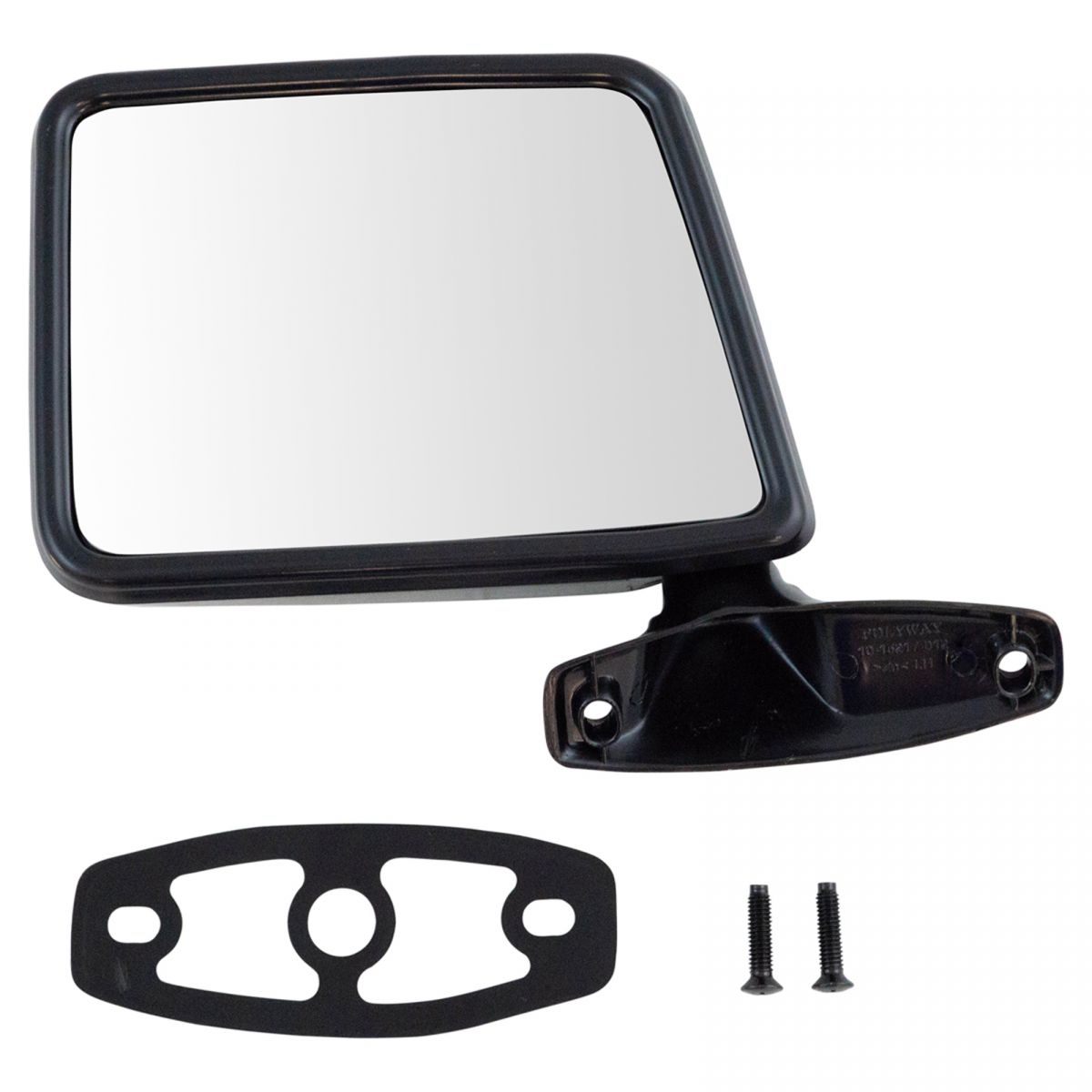 Black Manual Side View Door Mirror Driver Left LH for Ford Pickup Truck Explorer