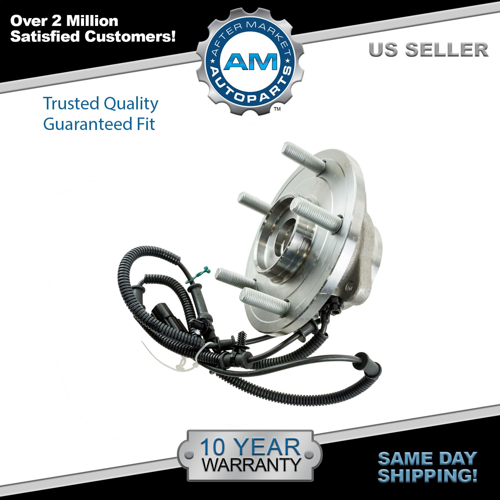 2008-2012 Dodge Grand Caravan Town & Country VW Routan Rear Wheel Bearing & Hub