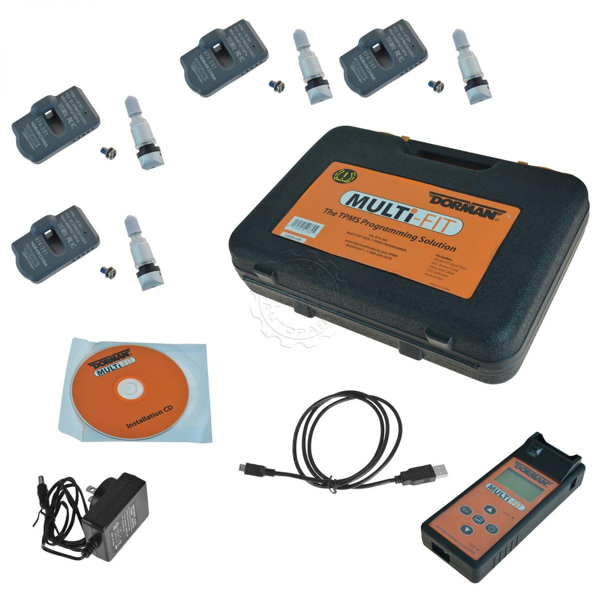 Dorman Tire Pressure Monitor Sensor Set & Programming Tool New | eBay