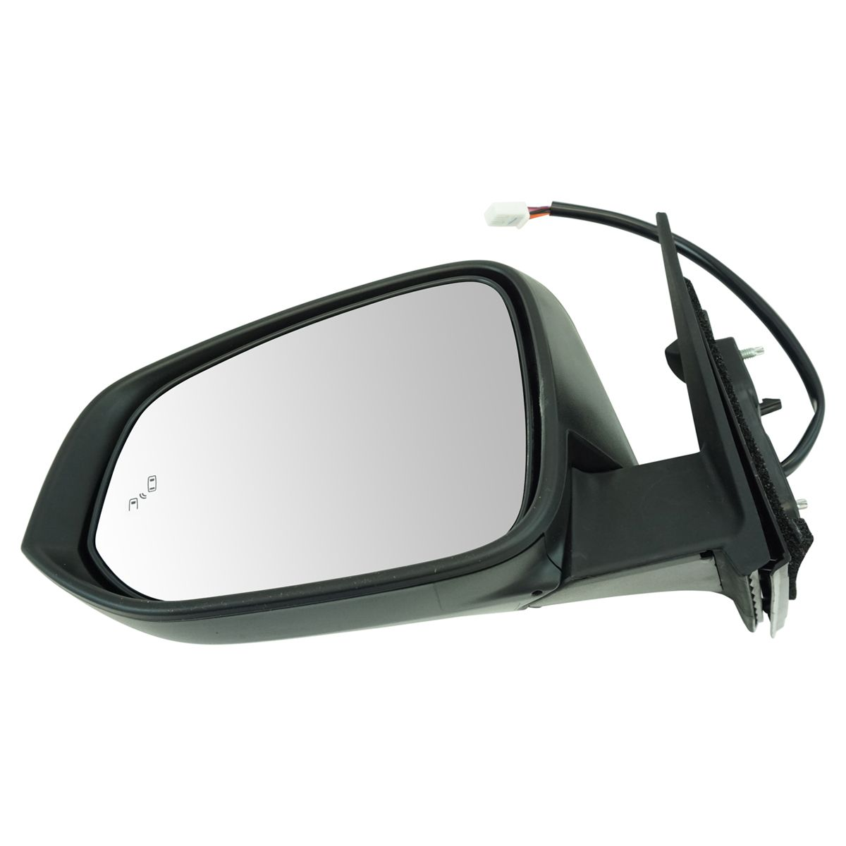 Exterior Power Heated Mirror with Blind Spot Detection /& Turn Signal RH for SUV