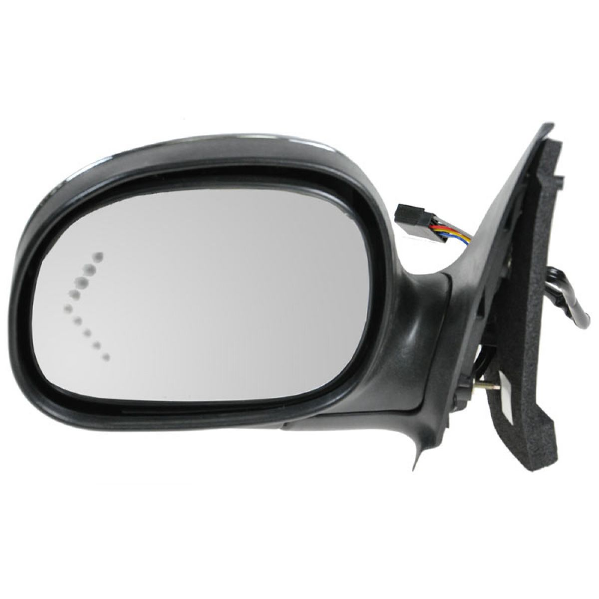 Manual Folding Power for EXPEDITION 97-99 MIRROR LH Non-Heated w// Signal Lig