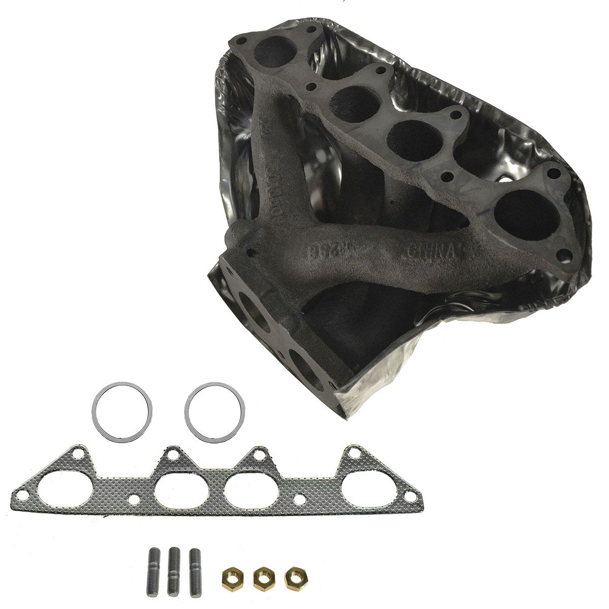 Exhaust Manifold 4 Cyl w/ Heat Shield for Honda Accord Odyssey Acura CL  Oasis
