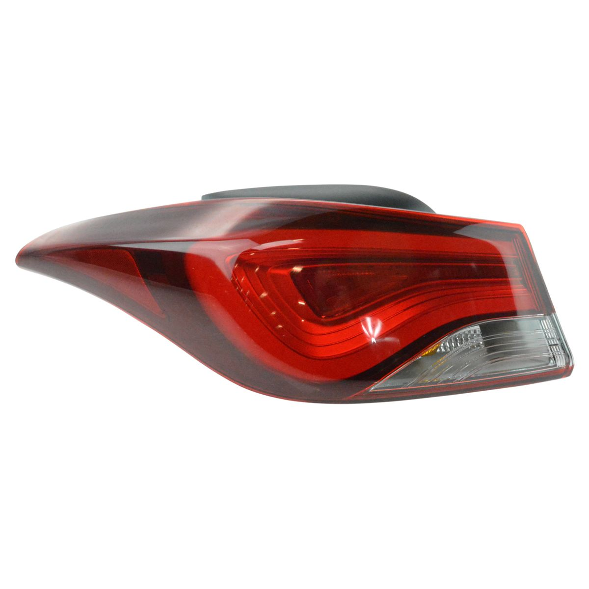 LED Tail Light Taillight Outer Quarter Panel Mounted Driver Side LH for Elantra