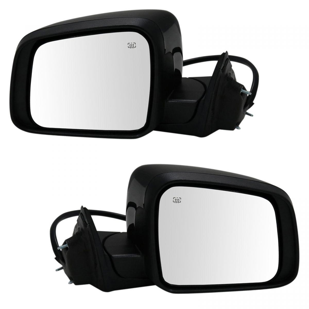 Mirror Power Heated Signal Memory Chrome Passenger Side for 11-13 Grand Cherokee