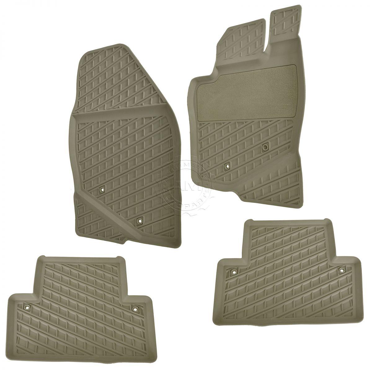 Volvo Floor Mats S60: OEM 39891793 Al Weather Floor Mat Kit Set Of 4 Beige For